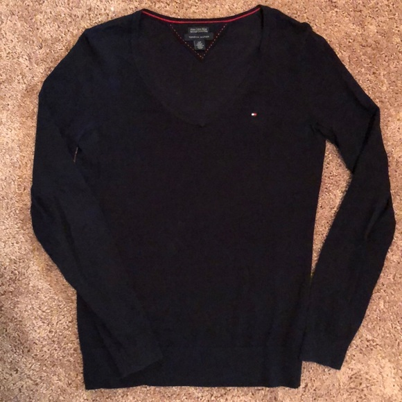 Tommy Hilfiger Sweaters - Tommy Hilfiger navy blue sweater